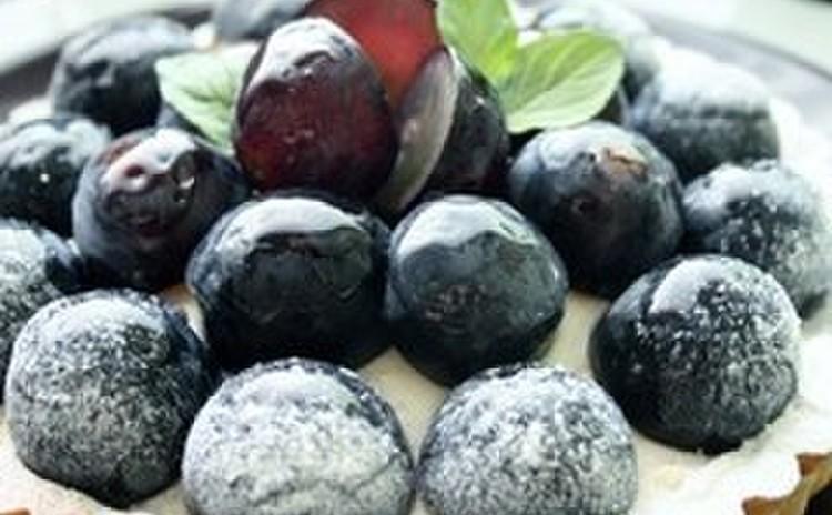 葡萄のクリームチーズタルト」で秋の味覚のタルト(16㎝丸タルト1台)
