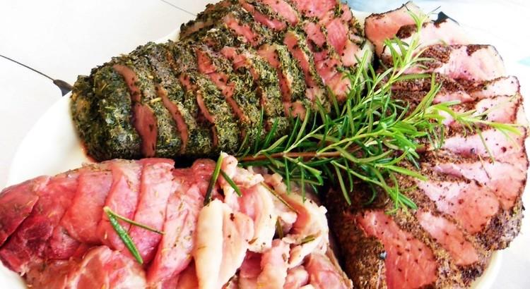 豚の塩釜焼き3種の味付けで✿食べ比べ
