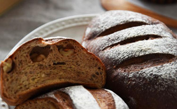 【糖質制限レッスン】みそくるみパン6個(プレートランチ付)
