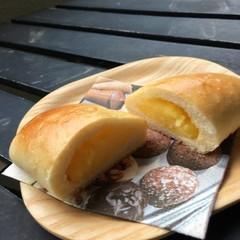 さくらんぼ酵母使用の昔ながらのクリームパン