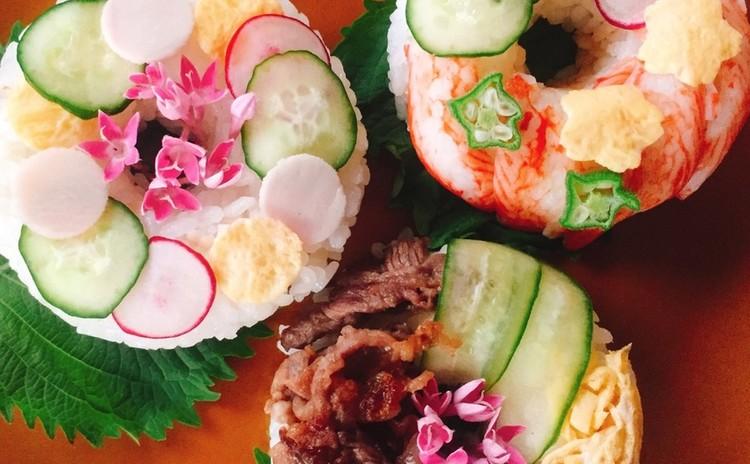 夏休み☆こども料理☆ドーナッツ寿司
