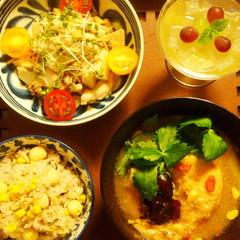 夏の疲れを癒す薬膳ランチ☆炊飯器でつくるお手軽サムゲタン