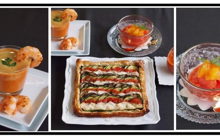 【本格派☆夏フレンチ】『豪華お食事パイ』全3品おもてなし料理レッスン
