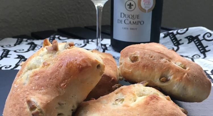 白ワインに合う!おつまみパンとオードブル2種のレッスン