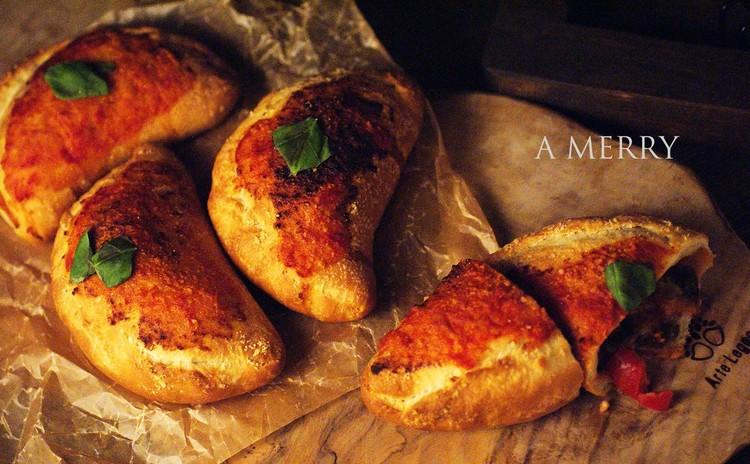 手作りラタトゥイユとチーズを詰め込んで♪カルツォーネ