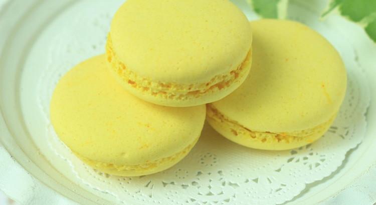 卵1個分の卵白で作るレモンマカロン