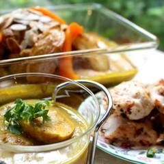玉ねぎのペーストとスパイスで作る「卵カリー」&宮廷料理クリーミーチキン