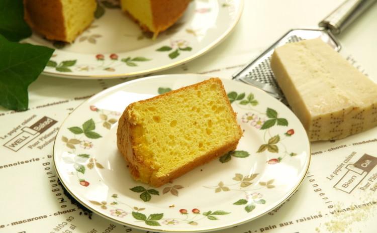 粉チーズでシフォン!
