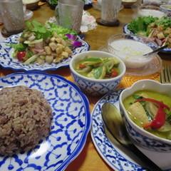 ベジタリアン・タイ料理 厚揚げと野菜でグリーンカレーを作ります♪
