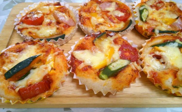 雑誌掲載クックパッドの人気パンの進化形 簡単ピザ&オレンジブリオッシュ