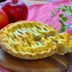 日程追加!秋の定番~網目がおしゃれなアメリカンスタイルアップルパイ