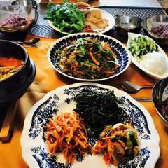 本場コチュカル使用!韓国家庭料理