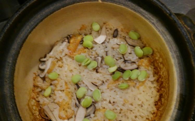 松茸土鍋ご飯