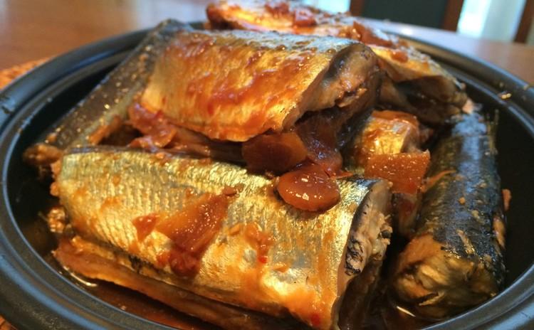 ピリ辛味噌のさんまの変わり煮