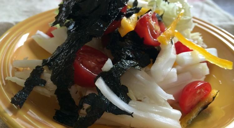 生で白菜サラダ