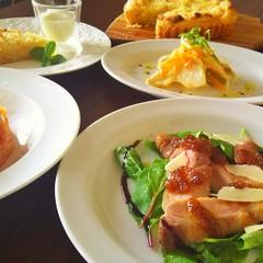 イタリア・スペイン料理!豚肉のタリアータ、白身魚のエスカベッシュ他2品
