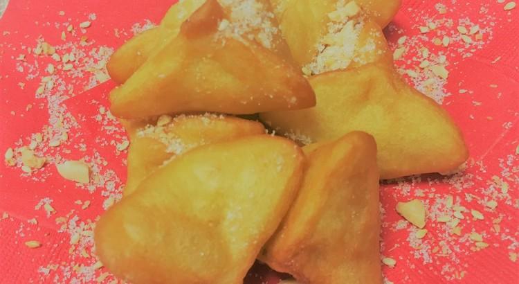 家郷油炸粿(カーヒョンヤウジャーコウ)さつま芋の中華揚げ菓子