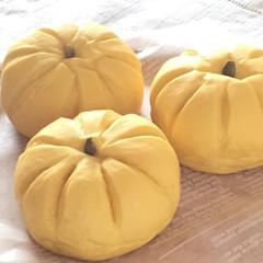 ハロウィンにぴったり♡かぼちゃパン こだわりランチ付き