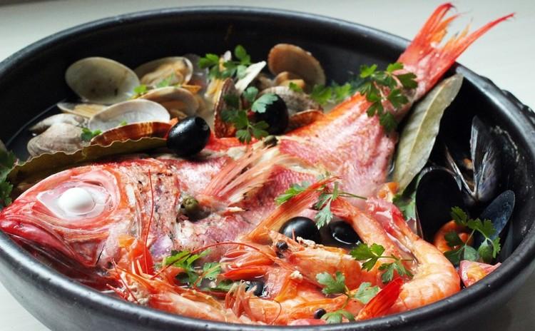 土鍋で金目鯛のアクアパッツァ・カッサータ他✿お土産付き