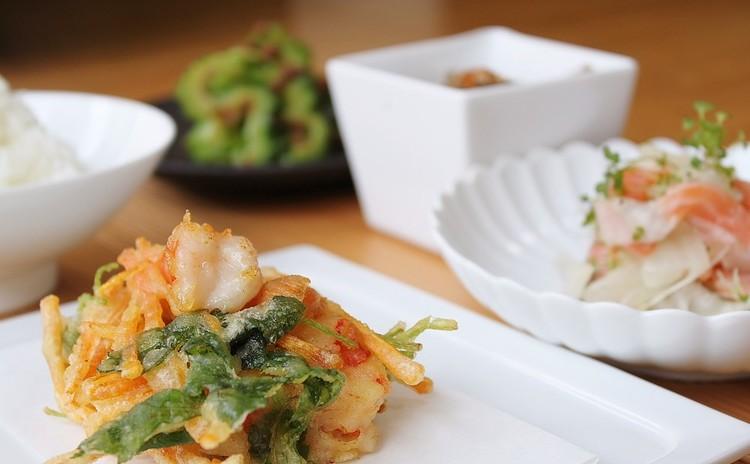 無敵のかき揚げ&いつでもおいしい野菜たっぷり常備菜3品!