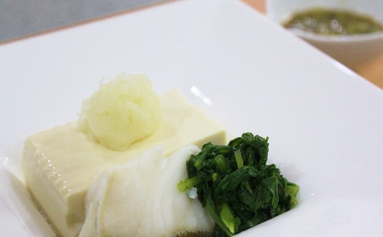 豆腐と鱈のサッと煮