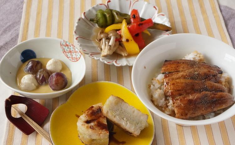魚をさばく!第二弾さんまの三枚おろしで蒲焼き丼&蓮根餅の挟み焼き