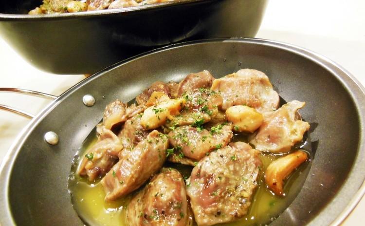 失敗なし!すぐできるスペイン料理❀魚介の濃厚パエリア・アヒージョ・豚塊オレンジ煮、他✿お土産付