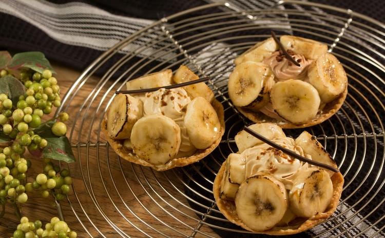 クッキー生地で2つのお菓子 バナナのタルトとフロランタン♪