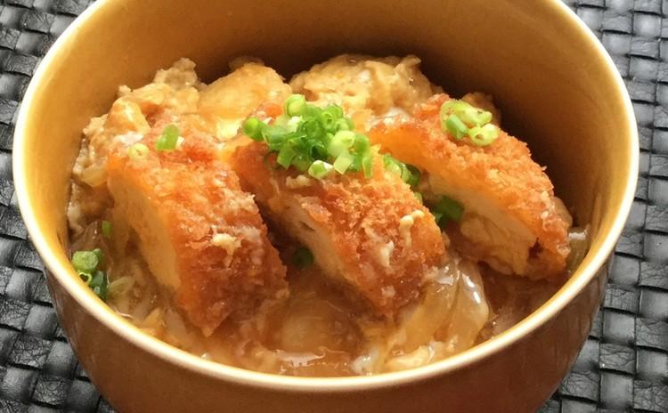 ☆簡単つゆとかえしde焼き茄子&卵とろり鶏カツ煮