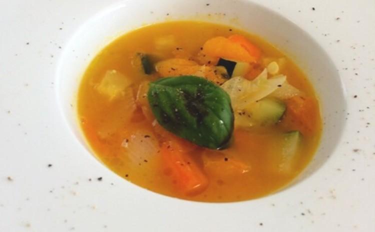 基本の野菜のスープ