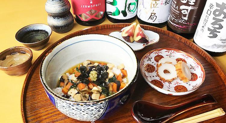 島根の日本酒を味わおう!島根を知りながらお酒と料理を楽しみます!