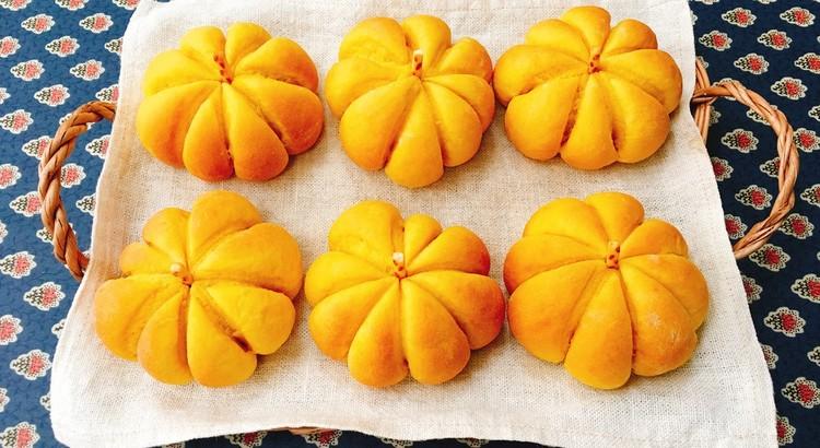 南瓜パン 6個