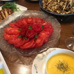 夏のおもてなし ワインとともに♪      旬の野菜とスパイシーチキン