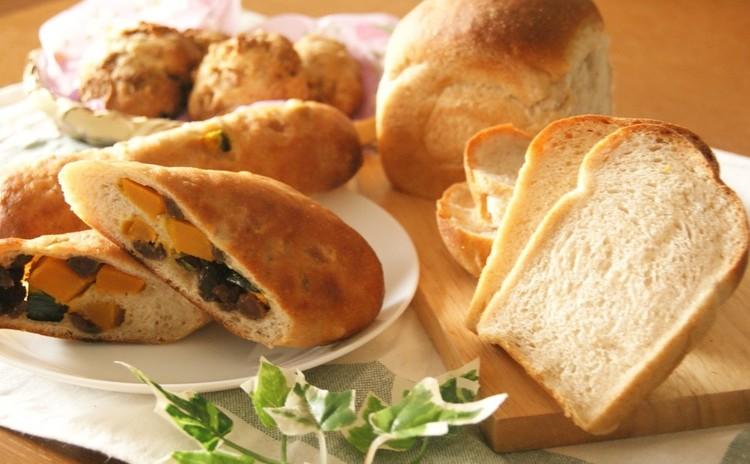 ホシノ天然酵母で簡単サワー種!2種のパン&スコーン