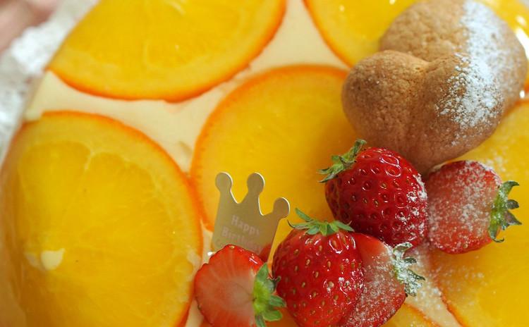 爽やかなオレンジのアントルメをご紹介します。