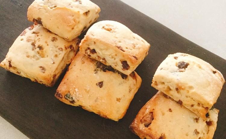 「野生・白神こだま酵母」で作るハロウィンパン・簡単パンスコーン