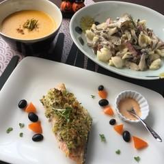 野菜たっぷり、秋の食材で大人が楽しむハロウィンメニュー♪