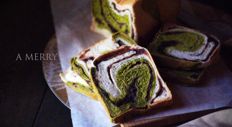 秋色♪彩りが美しい和のパン♡根強い人気の抹茶あん食