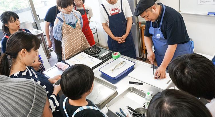 サカナバッカクッキングスクール お魚さばき教室