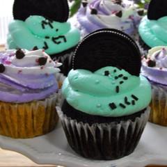 今ブレイク!のチョコミントとラムレーズンのNYカップケーキ