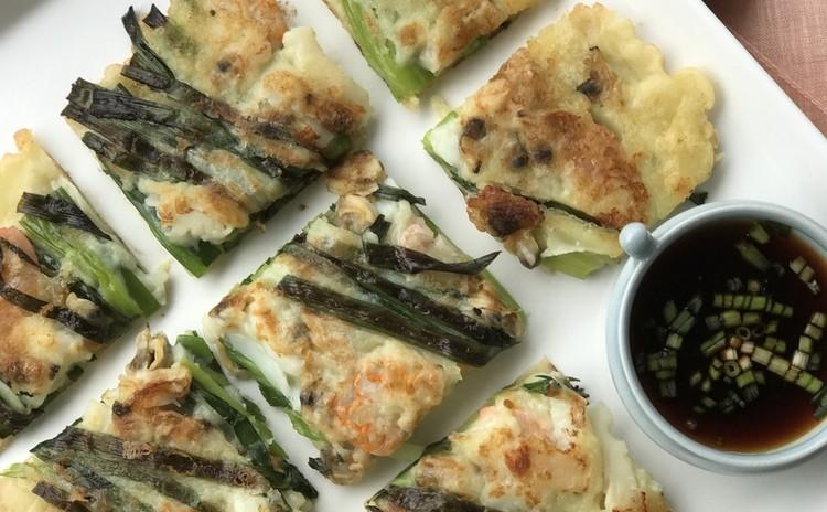 石焼ビビンパ、海鮮チヂミ、ワカメスープなど 体も心も温かく!