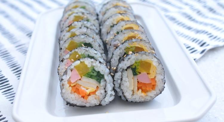 みんな大好き!韓国の国民食〜キンパ