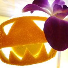 10月のフレッシュフルーツ・カクテル教室 ~かぼちゃ&栗~