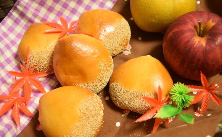 【お土産&ランチ付き】可愛い(^^♪栗餡パン&バターシュガートップパン