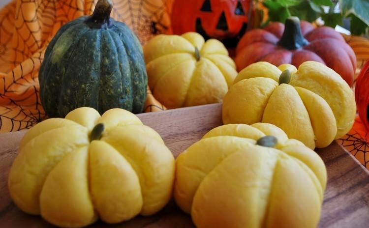 【ランチ付】ハロウィンのコッペパン&可愛いかぼちゃパン