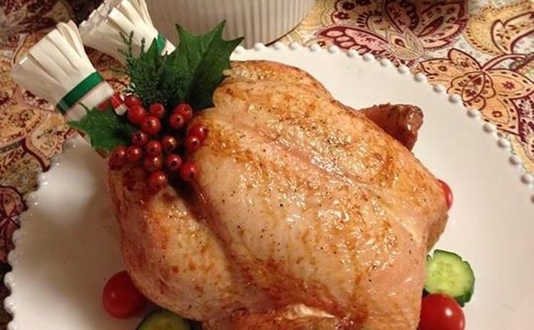 詰め物をしたローストチキン ~我が家のクリスマス伝統料理〜