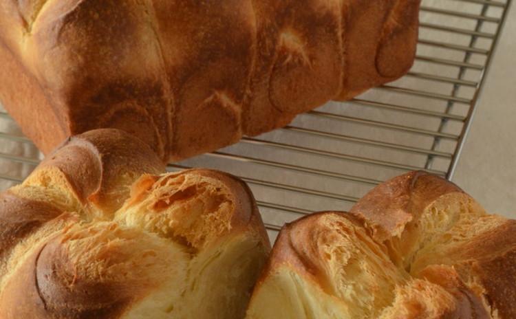 【リクエスト】自家製りんご酵母ブリオッシュナンテール