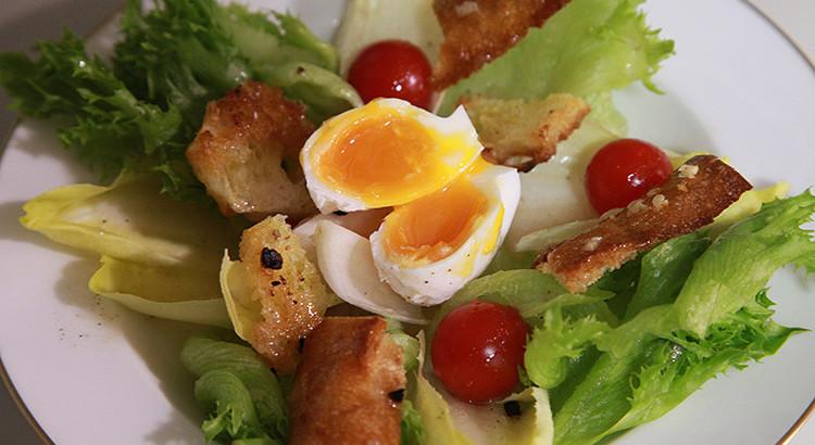 鶏ササミのバケッドサラダ
