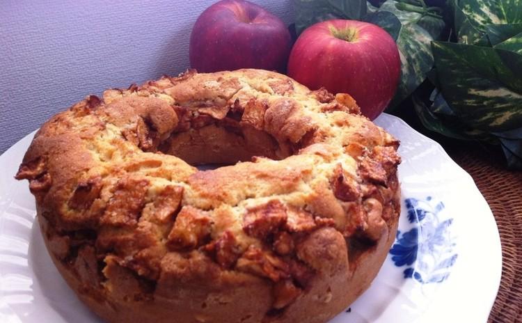 「アップルシナモン」りんごとシナモンの最強コンビの焼き菓子/エンゼル型