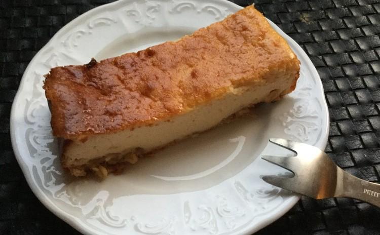 ホーローバットdeチーズケーキ